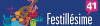logo Festillésime